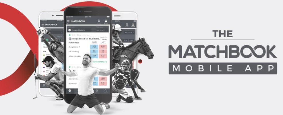 Download the Mobile App at Matchbook