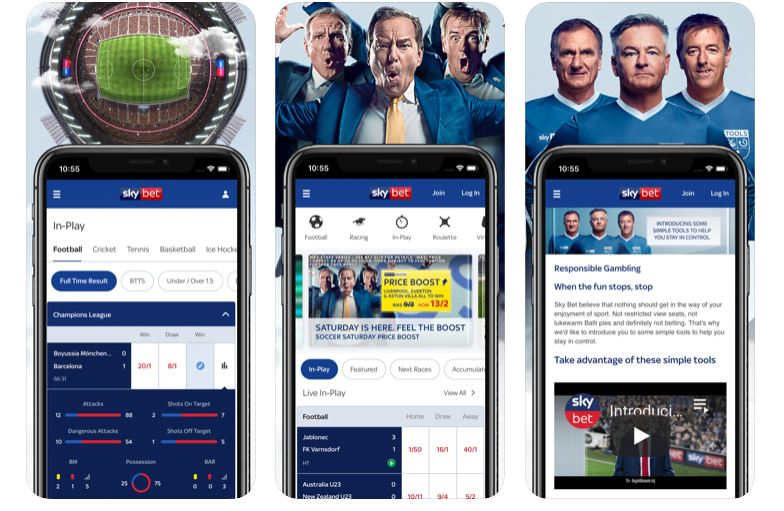 How to download the Sky Bet App