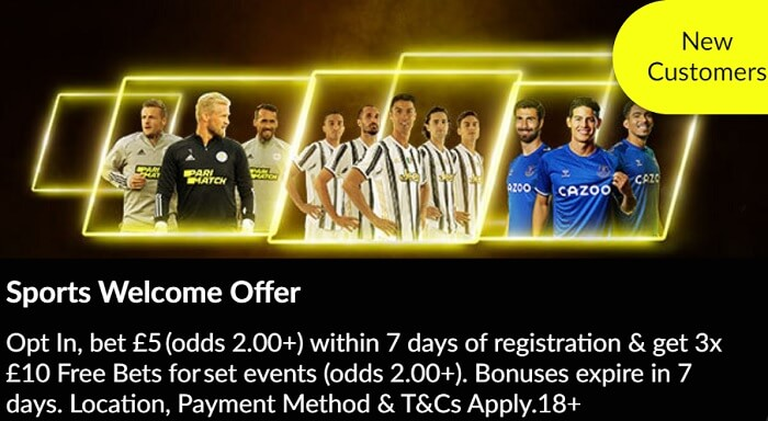 Sports Welcome Offer Parimatch
